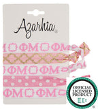 Sorority Hair Tie Pack - Azarhia - Campus Connection - 11