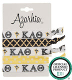 Sorority Hair Tie Pack - Azarhia - Campus Connection - 9