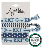 Sorority Hair Tie Pack - Azarhia - Campus Connection - 10