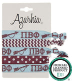 Sorority Hair Tie Pack - Azarhia - Campus Connection - 12