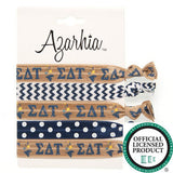 Sorority Hair Tie Pack - Azarhia - Campus Connection - 13