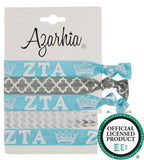 Sorority Hair Tie Pack - Azarhia - Campus Connection - 15