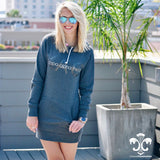 Sorority Hadley Sweatshirt Hoodie Dress