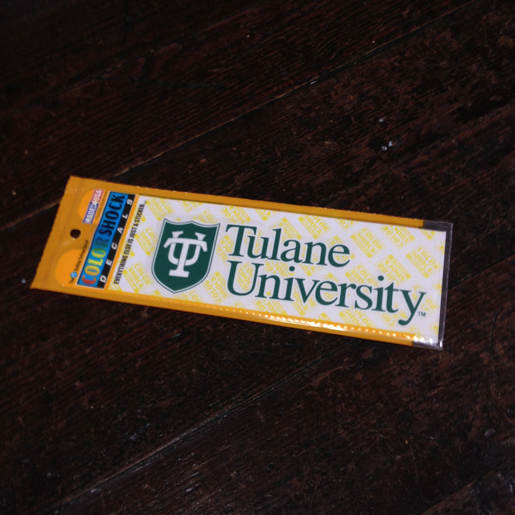 Tulane Shield Decal - CDI - Campus Connection