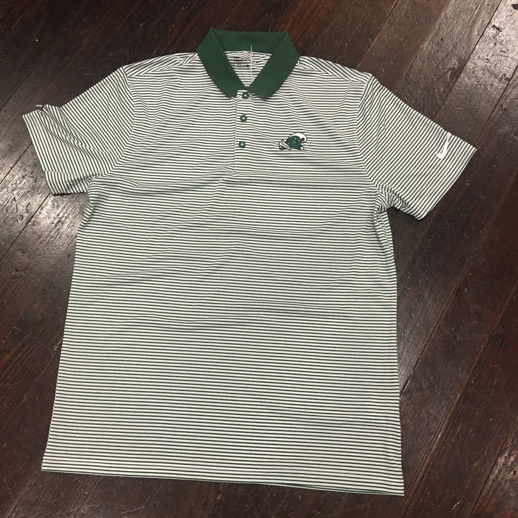 Tulane Angry Wave Nike Dri Fit Victory Ministripe Polo