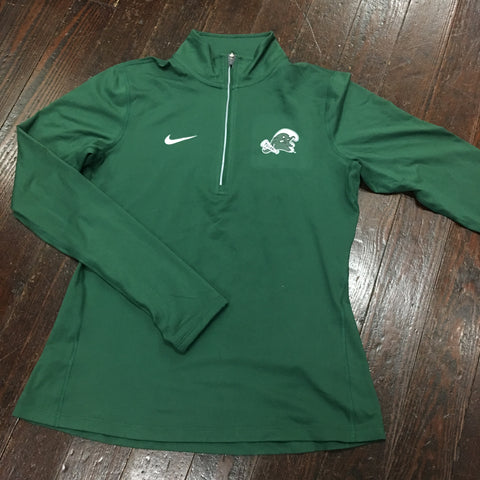 Tulane Angry Wave Nike Womens Quarter Zip Tailgate Element