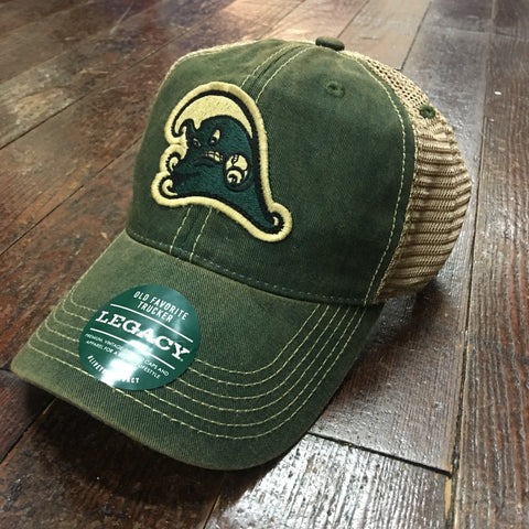 Tulane Angry Wave Old Favorite Trucker Hat