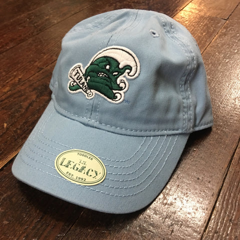 Toddler Tulane Angry Wave Hat - Light Blue