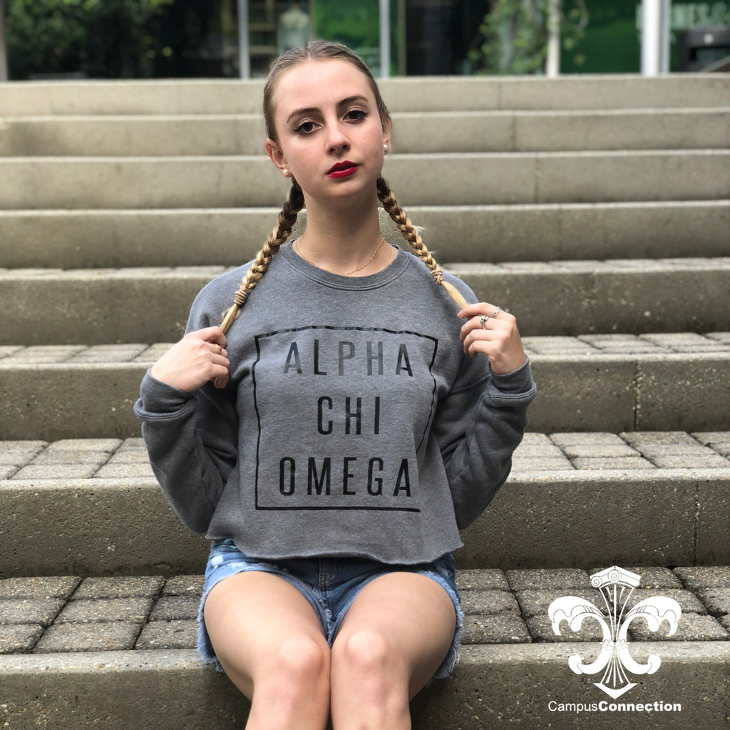 Sorority Bella Cropped Sweatshirt