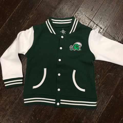 Tulane Angry Wave Toddler/Youth Varsity Jacket