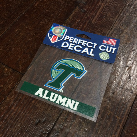 Tulane Alumni Decal