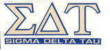 Sorority Letter Decal Sticker - Angelus Pacific - Campus Connection - 13