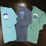 Big/Little/GBig/GGBig Sorority Bow Monogram Comfort Colors Long Sleeve - Campus Connection - Campus Connection - 3