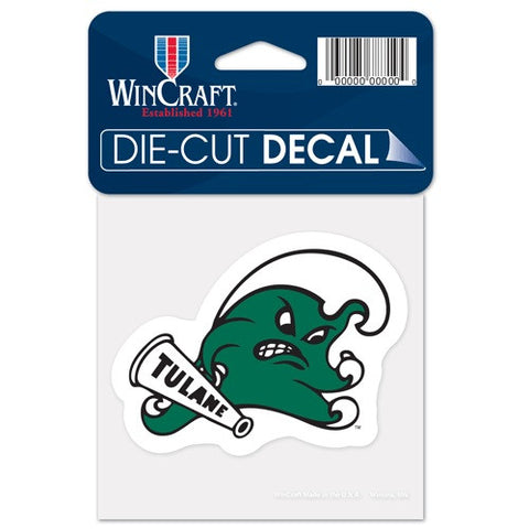 Tulane Angry Wave Decal