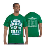 Tulane 1998 Undefeated National Champions Shirt