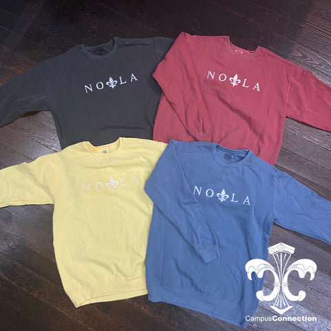 NOLA Comfort Colors Crewneck Sweatshirt