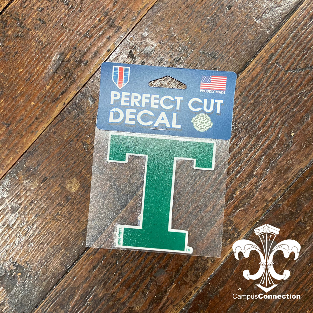 "Tulane Vintage ""T"" Decal"