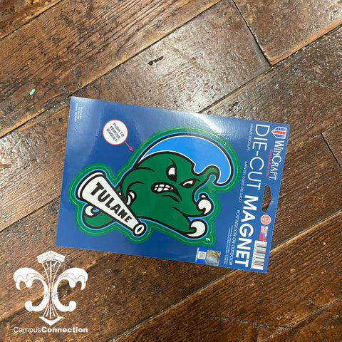 Tulane Angry Wave Magnet