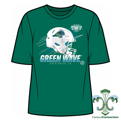 Famous Idaho Potato Bowl Tulane T-Shirt - Cotton [PRE-ORDER]