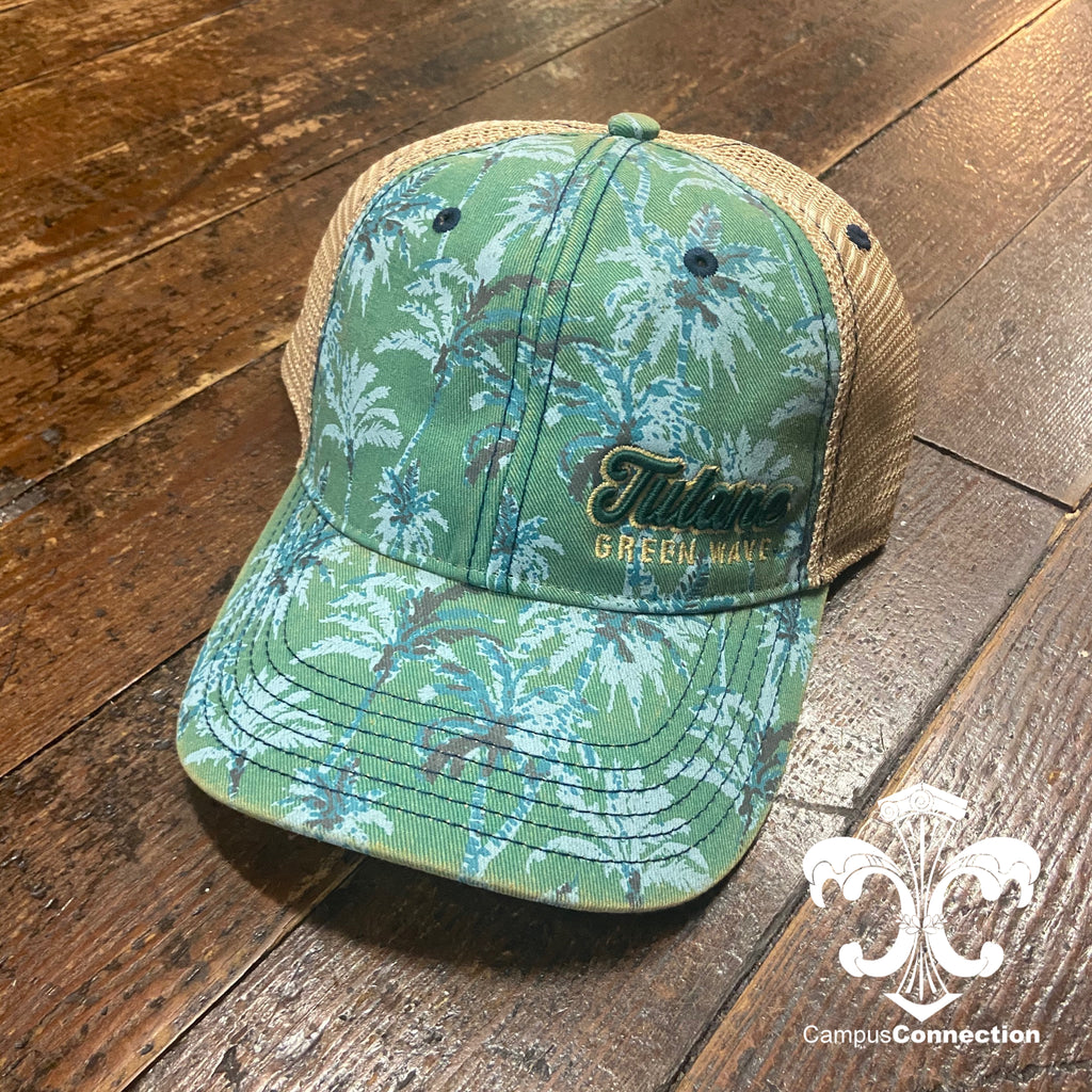 Tulane Palm Trucker Hat