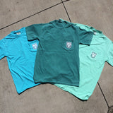 Tulane Bowtie Comfort Colors Pocket Tee - Campus Connection - Campus Connection - 2