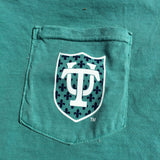 Tulane Hullabaloo Louisiana Comfort Colors Pocket Tee - Campus Connection - Campus Connection - 7