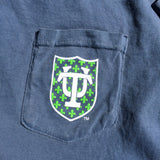 Tulane Hullabaloo Louisiana Comfort Colors Pocket Tee - Campus Connection - Campus Connection - 6