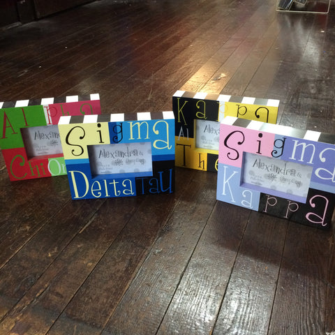 Sorority Block Picture Frame