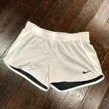 Tulane Angry Wave Nike DriFIT Touch Reversible Shorts - Anthracite Gray/White