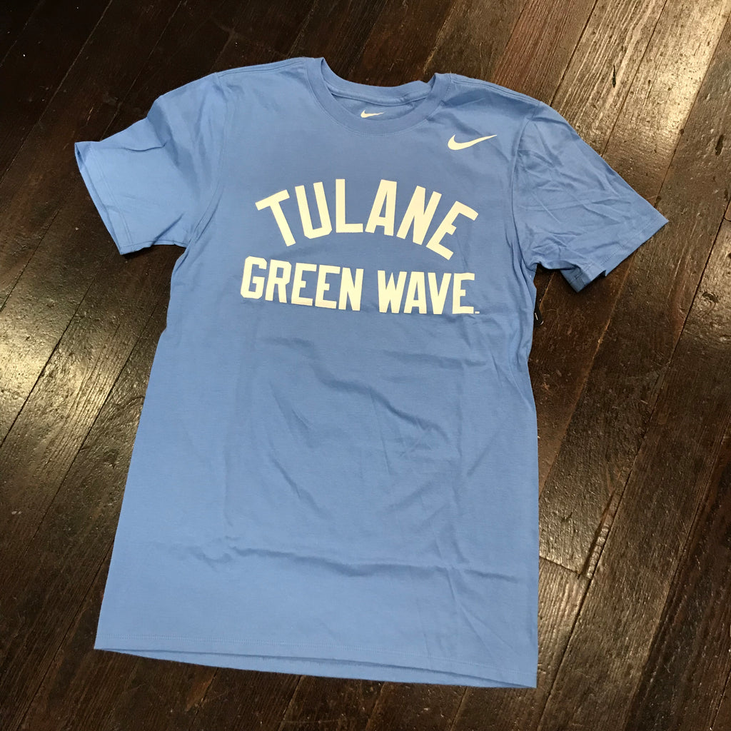 Tulane Nike Core T-Shirt - Valor Blue