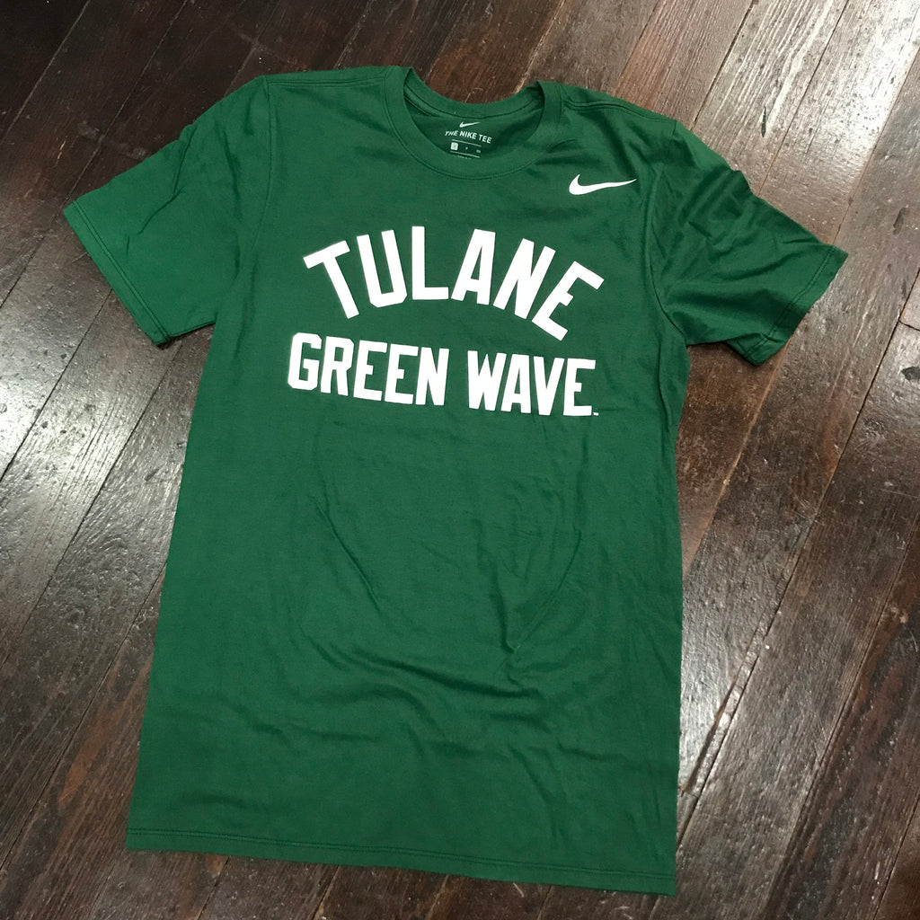 Tulane Nike Core T-Shirt - Green
