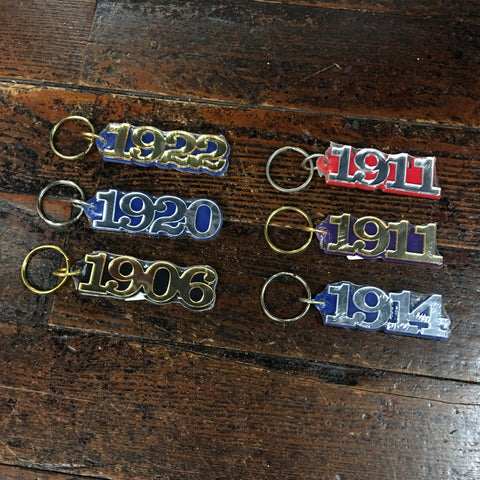 Mirror Founders Year Keychain