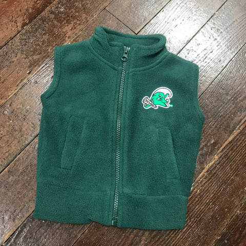 Tulane Angry Wave Youth/Toddler Microfleece Vest