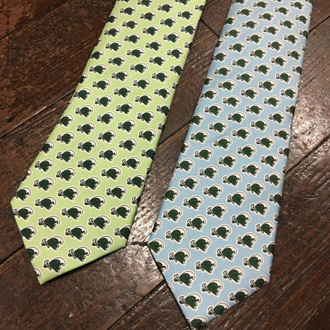 Tulane Angry Wave Neck Tie