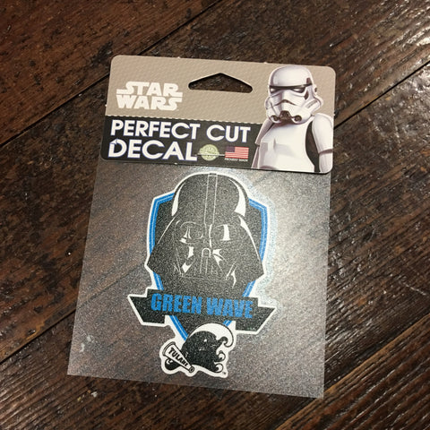 Tulane Darth Vader Decal