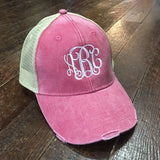 Monogrammed Trucker Hat - Campus Connection - Campus Connection - 2