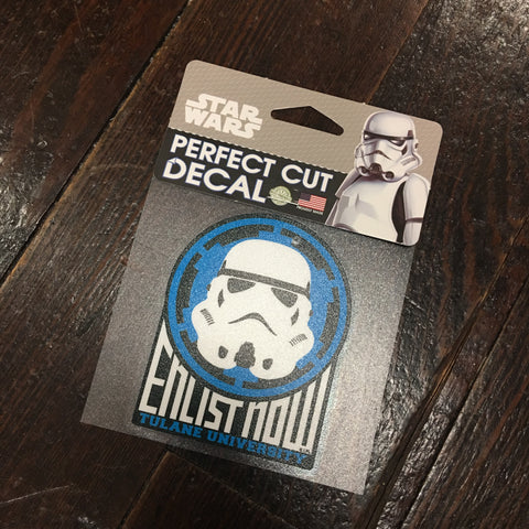 Tulane Storm Trooper Decal