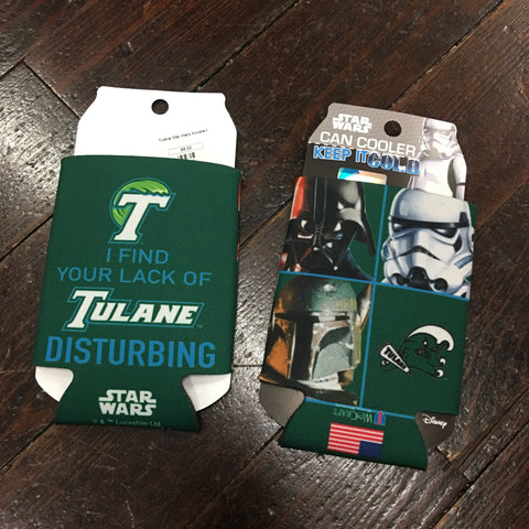 Tulane Imperial Angry Wave Star Wars Koozie