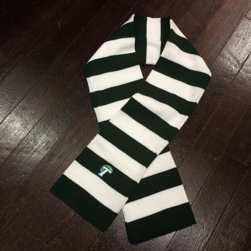 Tulane Knit Rugby Scarf - LogoFit - Campus Connection