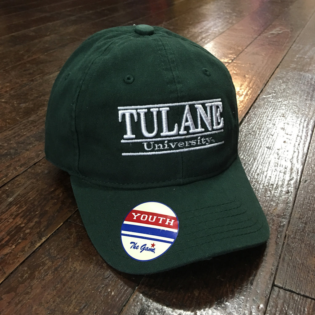 Youth Tulane University 3-Bar Hat - The Game - Campus Connection