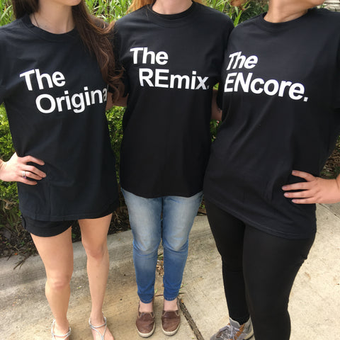 The Original, The Remix, The Encore Comfort Colors Family T-Shirts