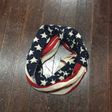 American Flag Infinity Scarf - Campus Connection - Campus Connection - 2