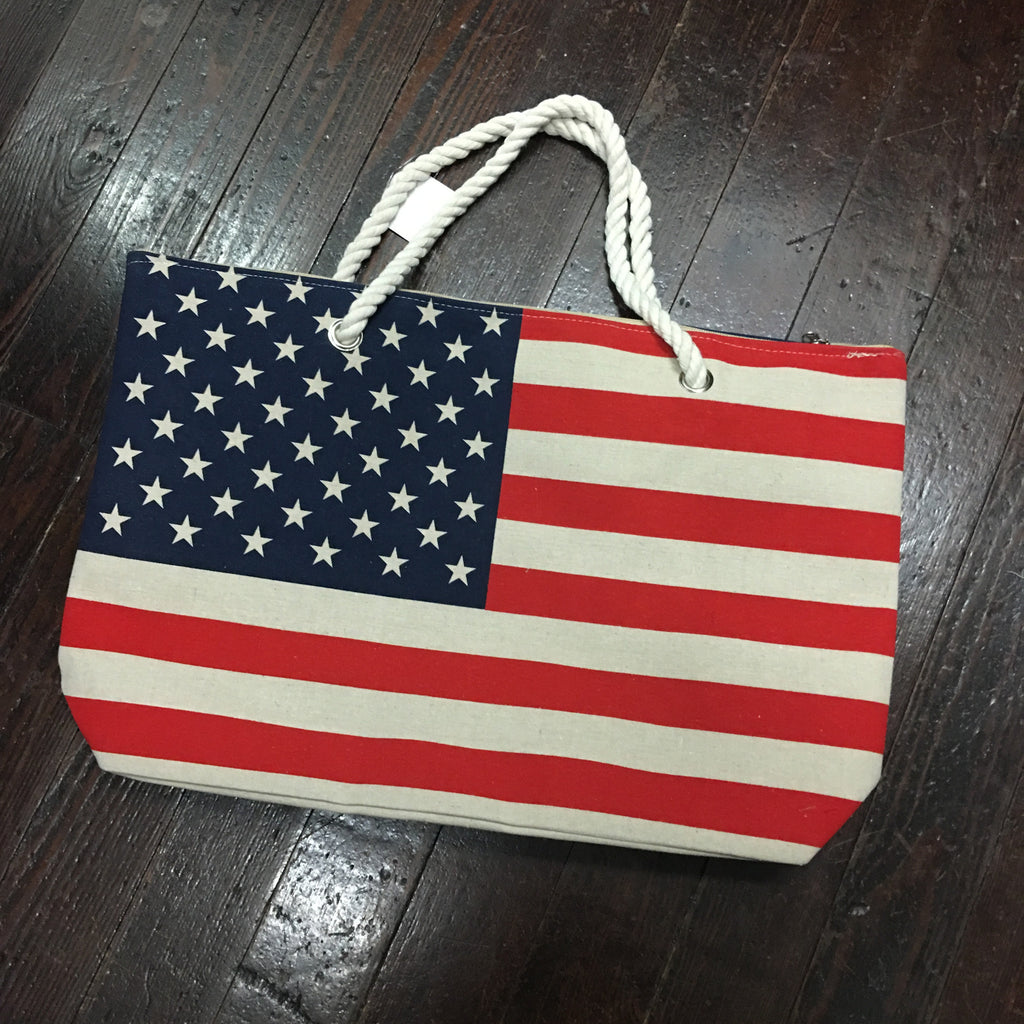 American Flag Tote Bag - Campus Connection - Campus Connection - 1