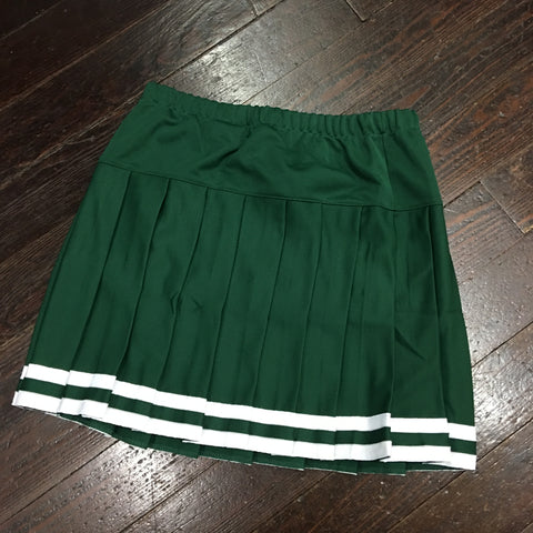 Gameday Cheer Skirt - Green