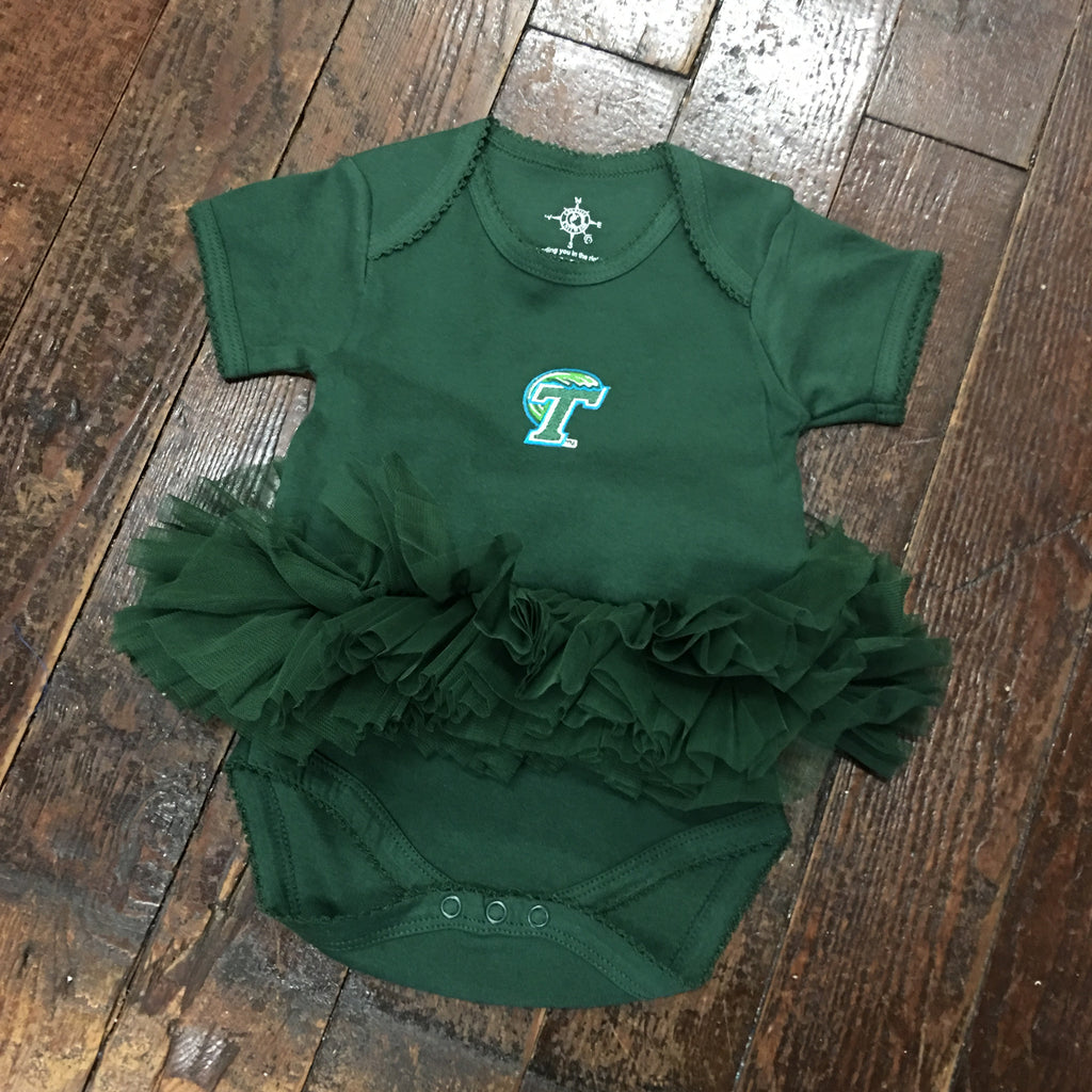 Tulane Tutu Baby/Infant Bodysuit - Creative Knitwear - Campus Connection