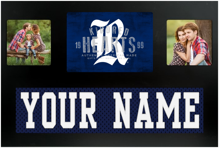 Rice Owls NCAA Jersey Nameplate Custom Picture Frame