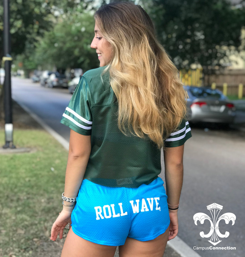 Roll Wave Mesh Shorts