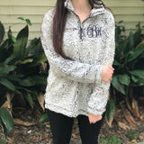 Frosted Fleece Sherpa Pullover