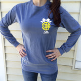 Big/Little/GBig/GGBig Sorority Bow Monogram Comfort Colors Long Sleeve - Campus Connection - Campus Connection - 2