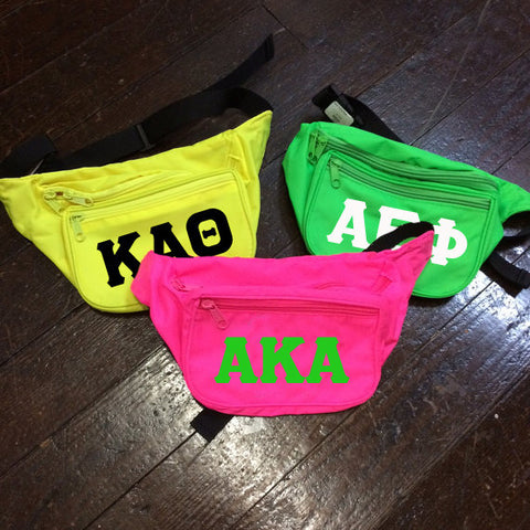 Sorority Neon Fanny Pack